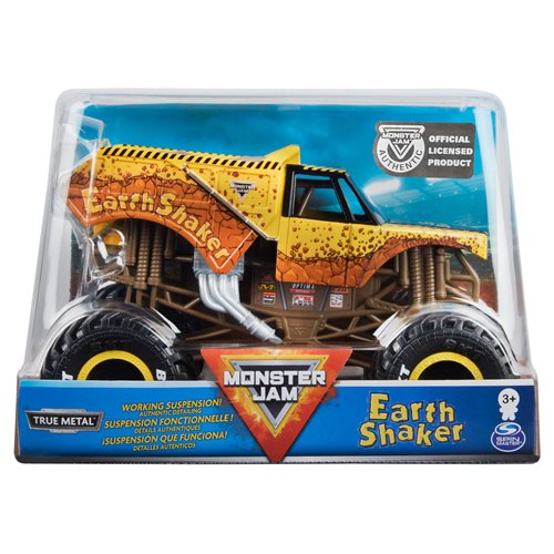 Monster Jam Monster Truck 1:24 Scale Die-Cast Vehicle Case