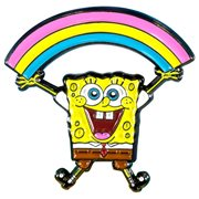 SpongeBob SquarePants Rainbow Enamel Pin
