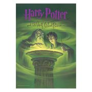 Harry Potter and the Half-Blood Prince Book Cover MightyPrint Wall Art Print