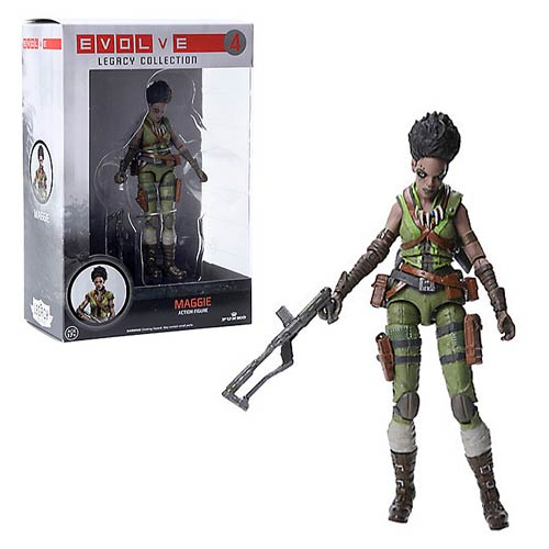 Evolve Maggie Legacy Collection Action Figure, Not Mint