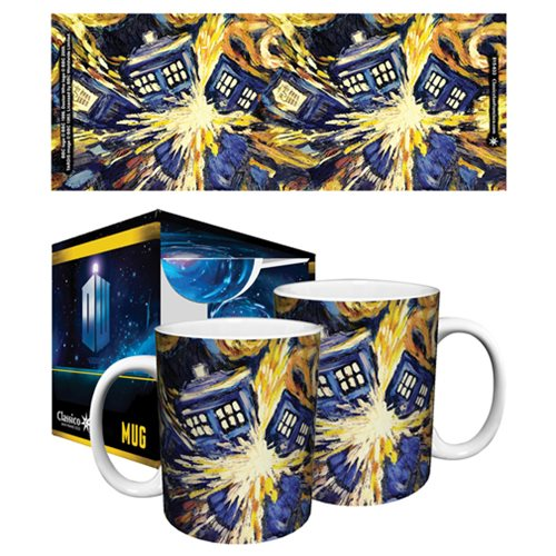 Doctor Who Exploding TARDIS 11 oz. Mug