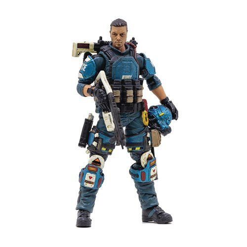 Joy Toy US Army Paratrooper Blue Falcon 1:18 Scale Action Figure