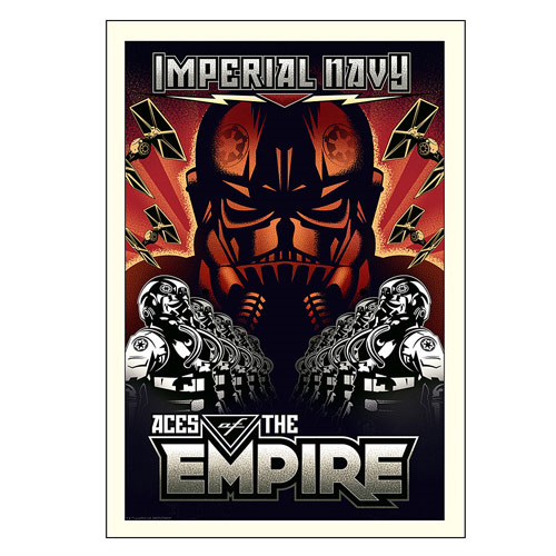 Star Wars Aces of the Empire by Mike Kungl Paper Giclee Art Print