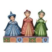 Disney Traditions Sleeping Beauty Three Fairies Royal Guests Statue, Not Mint