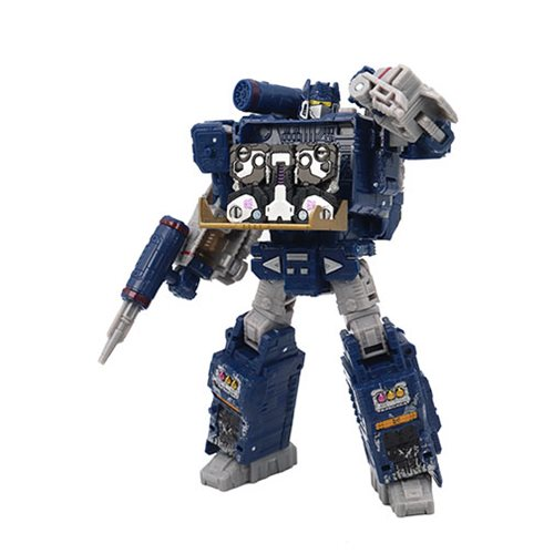 Transformers Generations War for Cybertron: Siege Voyager Soundwave