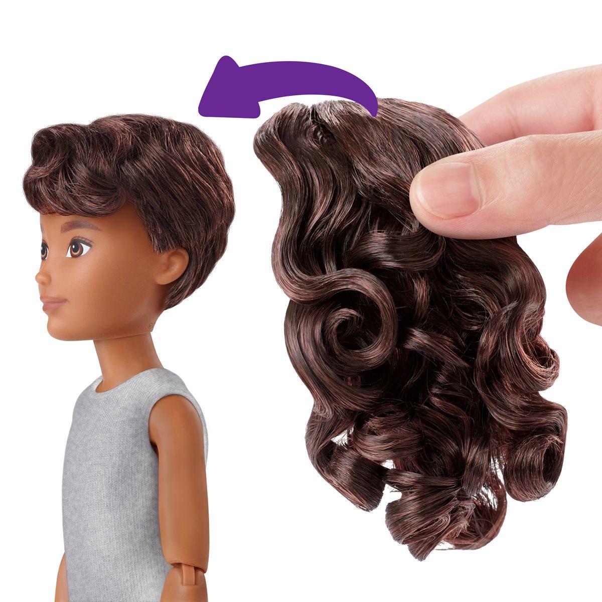 Brunette Wavy Hair Creatable World Deluxe Character Kit Customizable Doll