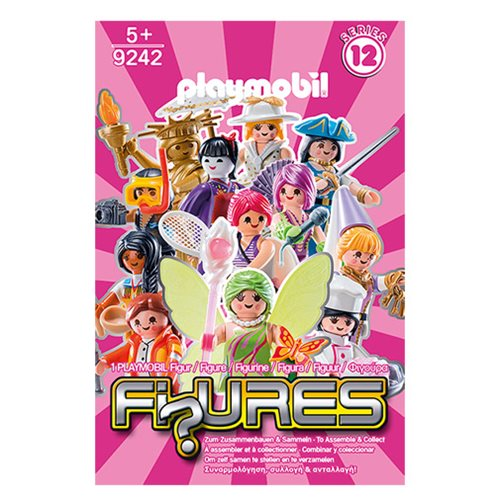 Playmobil 9242 Fi?ures Mystery Action Figures Girls Series 12 6-Pack