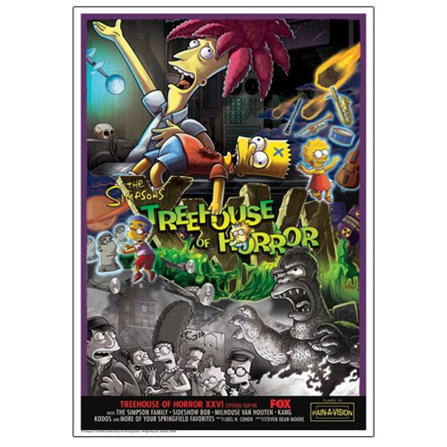 The Simpsons Treehouse of Horror XXVI Paper Giclee Print
