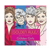 Golden Rules: Wit and Wisdom of The Golden Girls Hardcover Book