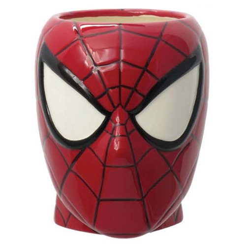 Spider-Man Head Ceramic Molded Mug