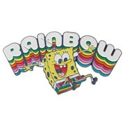 SpongeBob SquarePants Rainbow 3-Inch Lapel Pin
