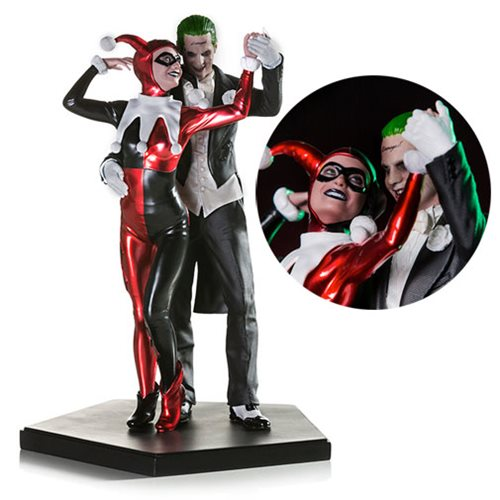 Suicide Squad Harley Quinn and The Joker 1:10 Scale Deluxe Statue