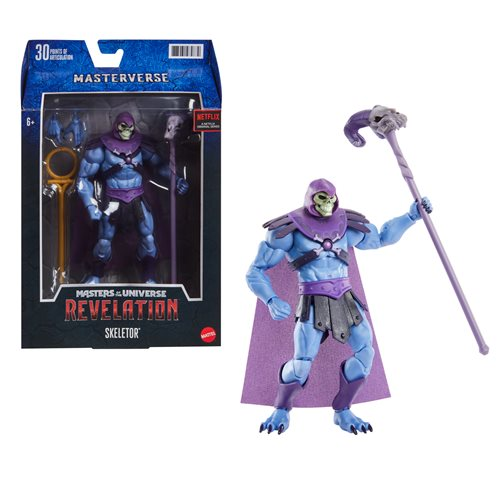 MOTU Masterverse Revelation Skeletor Classic Action Figure