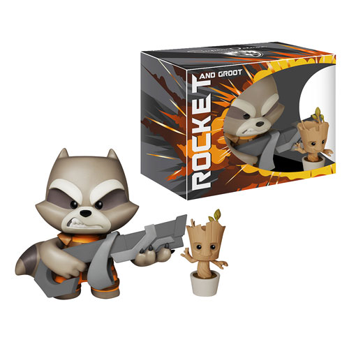 Guardians of the Galaxy Rocket Raccoon Super Deluxe Vinyl Figure