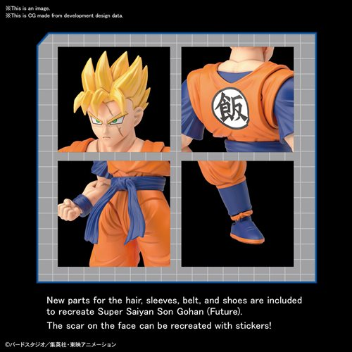 Dragon Ball Z Ultimate Son Gohan Figure-rise Standard Model Kit
