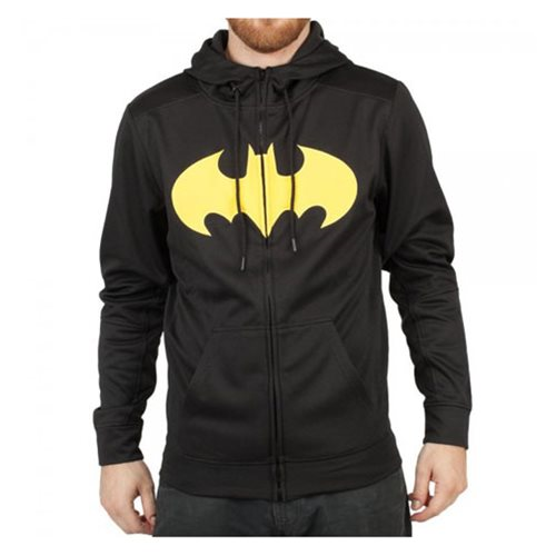 Batman Logo Zip Up Hoodie