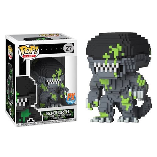 Alien Xenomorph Blood Splattered 8-Bit Pop! Vinyl Figure - Previews Exclusive