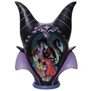 Disney Traditions Sleeping Beauty Maleficent Headdress Scene True Love's Kiss by Jim Shore Statue