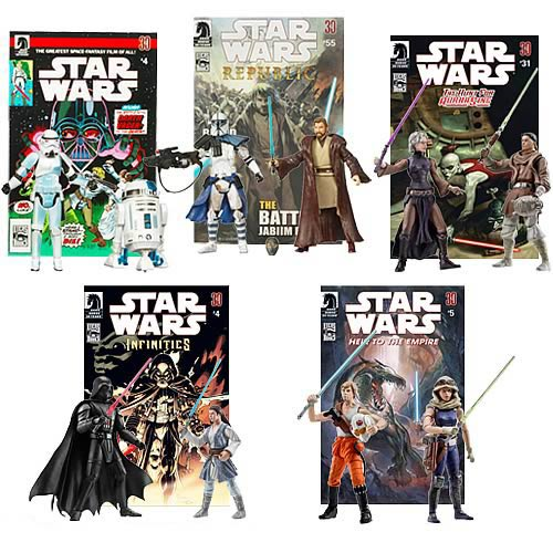 Star Wars Expanded Universe Figure Comic Packs Wave 3