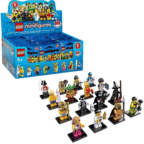 LEGO Minifigures Series 2 Display Box