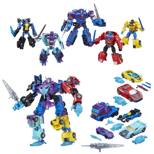 Transformers Combiner Wars Generation 2 Menasor Stunticons Boxed Set