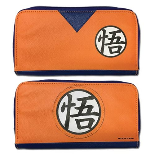 Dragon Ball Z Goku Dougi Jrs. Zip Wallet
