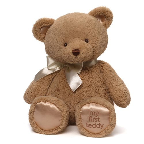 My 1st Teddy Bear Tan 18-Inch Plush