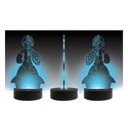 Mega Man Blue Print LED Lamp, Not Mint