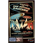 Earth vs. the Flying Saucers UFO 2nd Edition 5-Inch Model Kit with Light