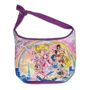 Sailor Moon Super S Main Characters Group Hobo Messenger Bag