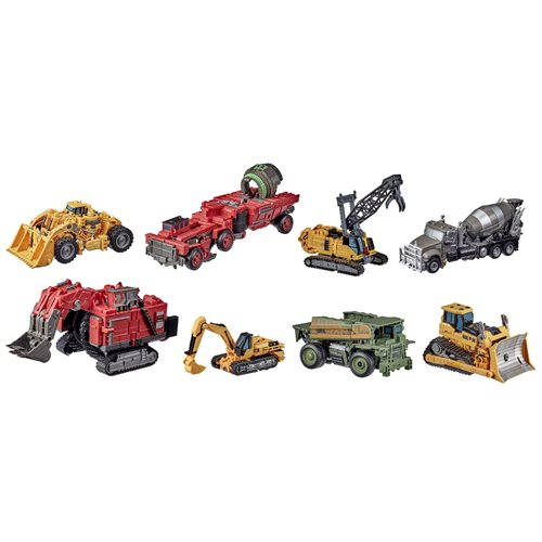 Transformers Studio Series Revenge of the Fallen Devastator Constructicon Combiner Set