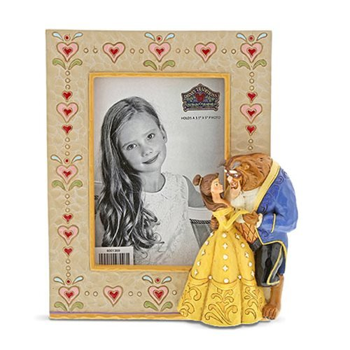 Disney Traditions Beauty and the Beast by Jim Shore Picture Frame