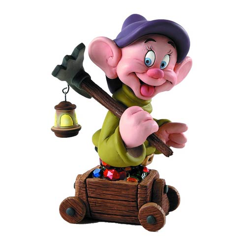 Snow White and the Seven Dwarfs Dopey Grand Jester Mini-Bust