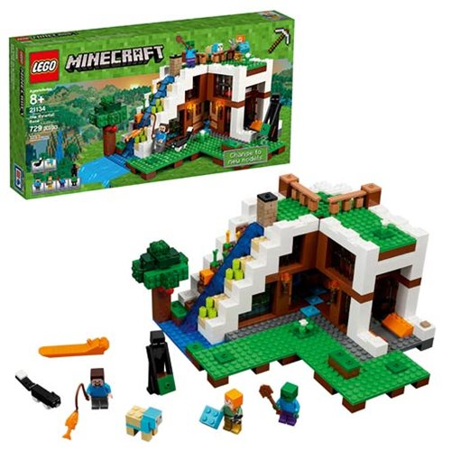 LEGO Minecraft Creative Adventures 21134 The Waterfall Base