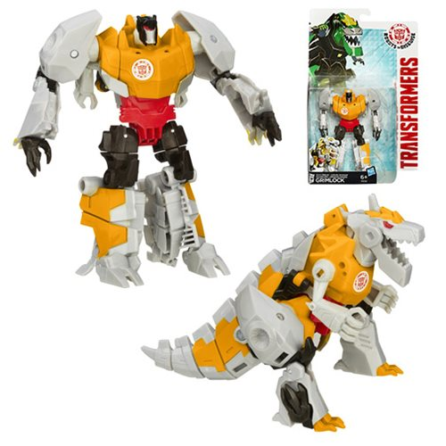 Transformers Robots in Disguise Warrior Grimlock Gold Armor