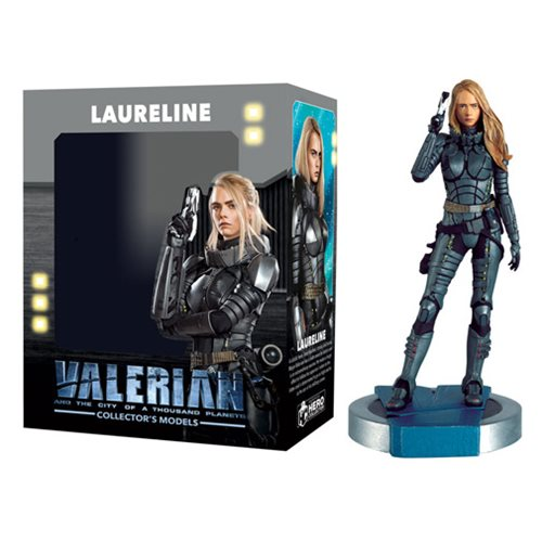 Valerian Movie Laureline Figure with Collector Magazine #2