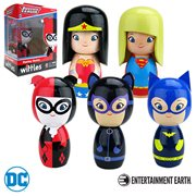 DC Comics Wittles Wooden Dolls Wave 1 Case