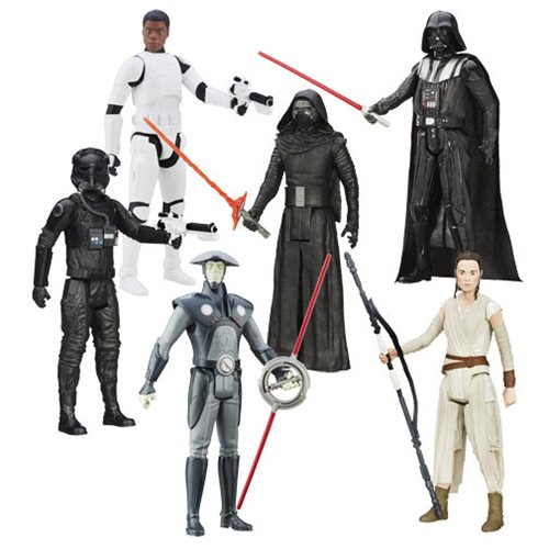 Star Wars: The Force Awakens Hero Series 12-Inch Action Figures Wave 4 Case