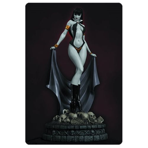 Women of Dynamite Vampirella Black and White Artist Proof Statue
