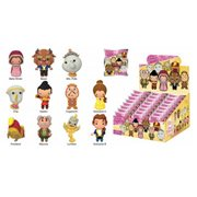 Beauty and the Beast Figural Key Chain Random 6-Pack