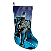 Batman 19-Inch Printed Satin Stocking