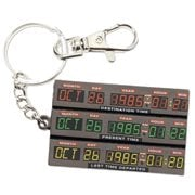 Back to the Future Time Control Metal Keychain