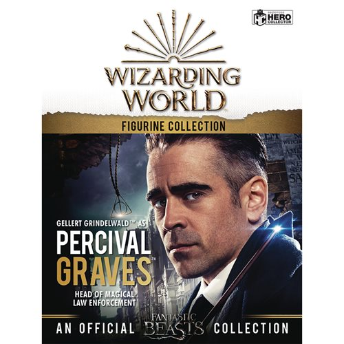 Harry Potter Wizarding World Collection Percival Graves Figure with Collector Magazine