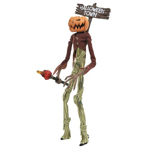 Nightmare Before Christmas Silver Anniversary Pumpkin King Jack Skellington Action Figure, Not Mint