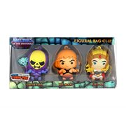 Masters of the Universe 3D Figural Bag Clip 3-Pack Set