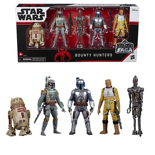 Star Wars Celebrate the Saga Bounty Hunters Action Figures