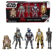 Star Wars Celebrate the Saga Bounty Hunters 3 3/4-Inch Action Figure Set, Not Mint