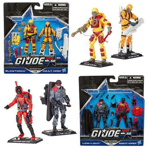 G.I. Joe 50th Anniversary Action Figures 2-Packs Wave 1 Case