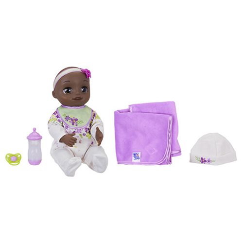 Baby Alive Real As Can Be Baby Doll - Black Sculpted Hair