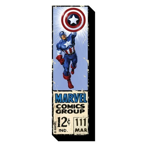 Captain America 12 Cent Funky Chunky Magnet